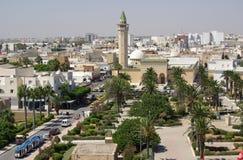 W Tunezja Bourguiba Meczet Zdjęcia Stock