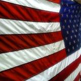 W Twój twarzy flaga Zdjęcie Stock