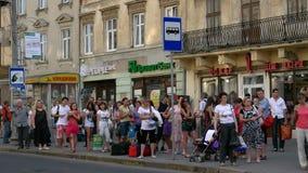 W Ukraina miasto Lviv zdjęcia stock