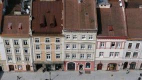 W Ukraina miasto Lviv obraz royalty free
