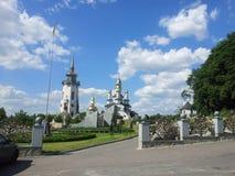 W Ukraina ortodoksalny kościół zdjęcie royalty free