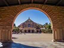 W uniwersytecie stanforda, Kalifornia, usa Zdjęcia Royalty Free