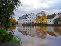 W Uppsala Akademia Młyn, Szwecja Obrazy Stock