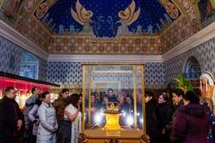W Uzhgorodgospodarzach powystawowe korony świat Obraz Royalty Free