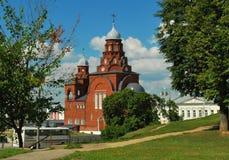W Vladimir trójca Kościół Obrazy Royalty Free