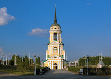 W Voronezh Dormition Kościół, Rosja Obrazy Royalty Free