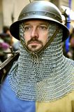 W Włochy średniowieczna parada Obrazy Royalty Free