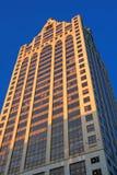 W w centrum Milwaukee wysoki budynek Zdjęcia Stock