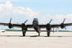 W.W.II legendarische vliegtuigenbommenwerper. Stock Afbeelding