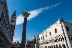W Włochy stary Wenecja miasteczko Zdjęcia Stock