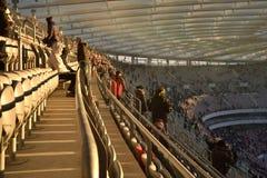 W Warszawa krajowy stadion futbolowy Obraz Royalty Free