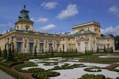 W Warszawa pałac królewski obrazy royalty free