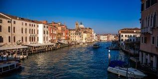 W Wenecja Gran kanał, Włochy Fotografia Royalty Free