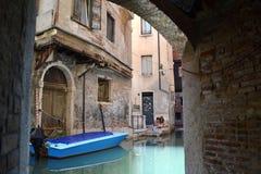 W Wenecja wodny kanał Fotografia Royalty Free