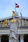 W Wiedeń Austriacki Parlament, Austria Zdjęcie Royalty Free