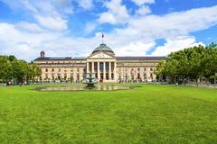 W Wiesbaden sławny kasyno zdjęcia stock