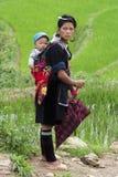 W Wietnam Hmong ludzie Fotografia Royalty Free