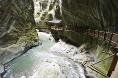 wąwozy Szwajcarii Zdjęcie Royalty Free