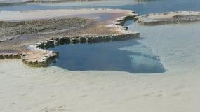 W Yellowstone gorąca wiosna Zdjęcie Stock