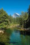 W Yosemite Park Narodowy Przyrodnia Kopuła, USA Obrazy Stock