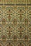 W zawiły sposób Andaluzyjskie płytki w Cadiz zdjęcia stock