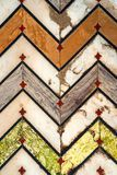 W zawiły sposób mozaika wzór Czerwony fort Agra Zdjęcia Royalty Free