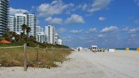 W zima Miami Plaża zbiory wideo