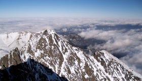 W zima tatrzańskie góry Obraz Royalty Free
