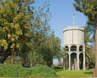 Waßerturm in Kfar Yehoshua Stockbilder