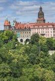 WAŁBRZYSKI, POLSKA, LIPIEC - 07, 2016: Grodowy Ksiaz w Wałbrzyskim, wewnątrz Obraz Royalty Free