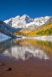 Wałkoni się dzwonu parka narodowego w spadku kolorze, Kolorado Obraz Royalty Free
