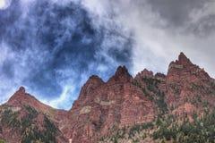 Wałkoni się Dzwony Barwi szczyt Obraz Royalty Free