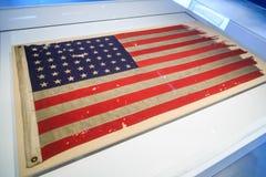 ważny dzień flaga amerykańska Obrazy Royalty Free