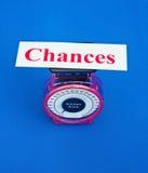 Ważyć szansy Obrazy Stock