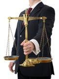 Waży sprawiedliwość obraz stock