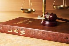 Waży sprawiedliwość zdjęcia royalty free