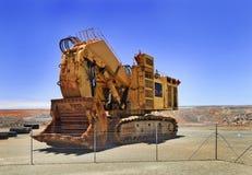WA超级坑挖掘机 库存图片