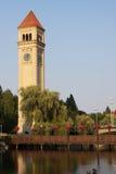 wa башни spokane часов Стоковые Изображения