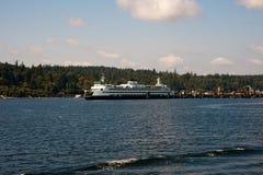 WA de veerboot van de staat Royalty-vrije Stock Afbeeldingen