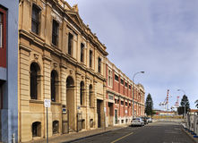 WA Fremantle Street 2 port Royalty Free Stock Photography