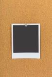 Wałkowa deska, korek deska, tablica informacyjna fotografia stock