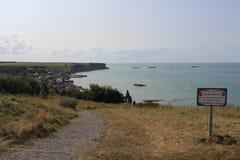 Ważnego dnia miejsce, Normandy w Francja Obraz Royalty Free