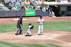 Ważny Leage baseball Fotografia Royalty Free