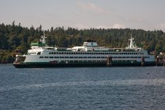 WA state ferry Royalty Free Stock Image