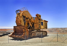WA Super pit excavator Stock Images