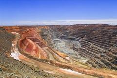 WA Super pit hor sky Stock Image