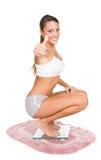waży kobiety Fotografia Royalty Free