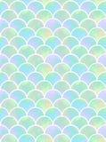 Waży syrenka bezszwowy wzór Obraz Stock