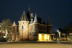 Waag,阿姆斯特丹,荷兰 免版税库存照片