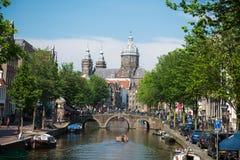 Waag, Amsterdam royalty-vrije stock afbeelding